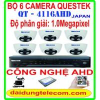 BỘ 6 CAMERA QUESTEK QT-4116AHD1.0