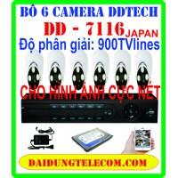 BỘ 6 CAMERA HDMI DD-7116