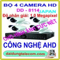 Bộ 4 camera HDMI DD-8114