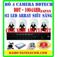 BỘ 4 CAMERA DDTECH DDT-1004AHD
