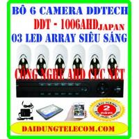 BỘ 6 CAMERA DDTECH DDT-1006AHD