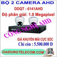 BỘ 2 CAMERA AHD DDQT-6141AHD