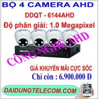 BỘ 4 CAMERA AHD DDQT-6141AHD