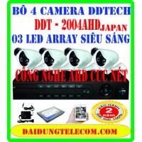 BỘ 4 CAMERA AHD DDT-4004AHD
