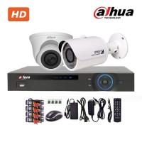 Trọn bộ 2 camera dahua HD2012