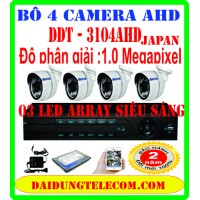 BỘ 4 CAMERA HD DDT-3104AHD