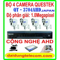 BỘ 4 CAMERA QUESTEK QT-3704AHD