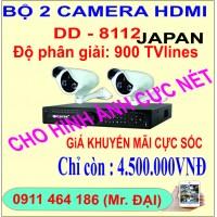 BỘ 2 CAMERA HDMI DD-8112