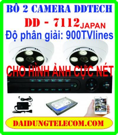 BỘ 2 CAMERA HDMI DD-7112